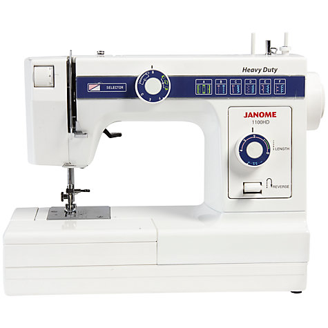 Buy Janome 1100HD Sewing Machine Online at johnlewis.com