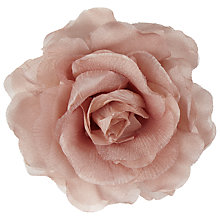 Buy John Lewis Rose Hair Accessory, Pink Online at johnlewis.com