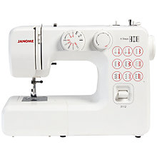 Buy Janome 3112 Sewing Machine Online at johnlewis.com