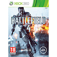 Buy Battlefield 4, Xbox 360 Online at johnlewis.com