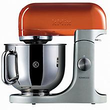 Buy Kenwood kMix KMX97 Stand Mixer, Orange with FREE Kettle and Toaster Online at johnlewis.com