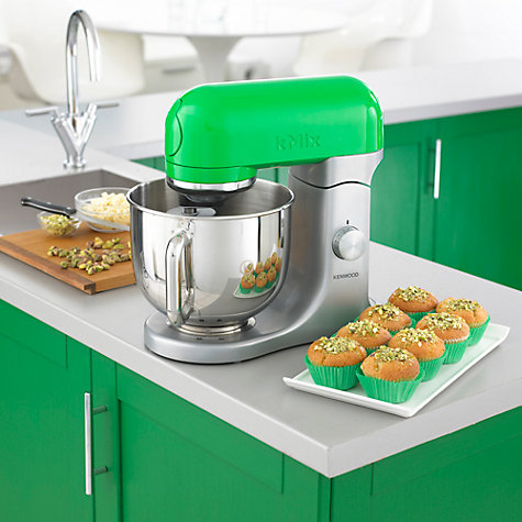 Buy Kenwood kMix KMX95 Stand Mixer, Green Online at johnlewis.com