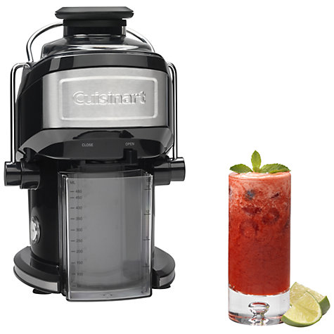 Buy Cuisinart CJE500U Compact Juice Extractor, Black/Silver Online at johnlewis.com