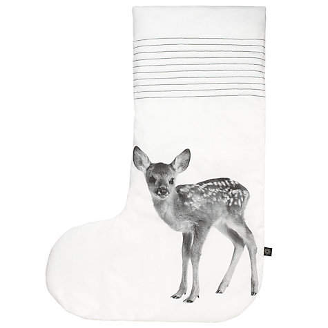 Buy By Nord Deer Oversized Stocking Online at johnlewis.com