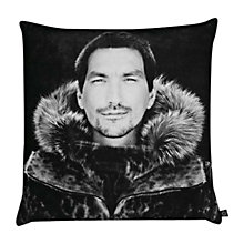 Buy By Nord Eskimo Man Cushion, Black/White, Large Online at johnlewis.com