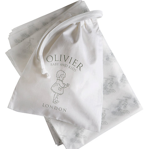 Buy Olivier Baby Cashmere Blanket/Shawl, Biscuit Online at johnlewis.com