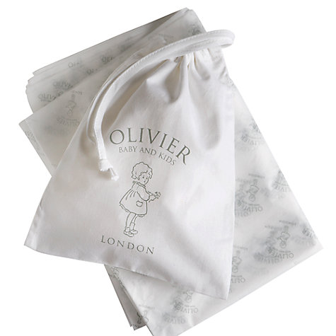 Buy Olivier Baby Cashmere Blanket, Cream Online at johnlewis.com
