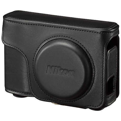 Buy Nikon Leather Case for Coolpix A, Black Online at johnlewis.com