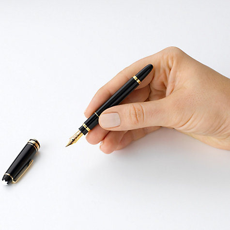 Buy Montblanc Meisterstück Hommage W.A. Mozart Fountain Pen, Small Size Online at johnlewis.com