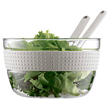 Buy Bodum Pavina Salad Bowl and Serving Utensils Online at johnlewis.com