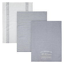 Buy John Lewis Maison Tea Towels, Set of 3 Online at johnlewis.com