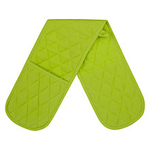 Buy John Lewis Waffle Double Oven Glove Online at johnlewis.com