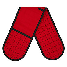 Buy House by John Lewis Double Oven Glove, Red Online at johnlewis.com