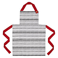 Buy House by John Lewis Small Spots Apron Online at johnlewis.com