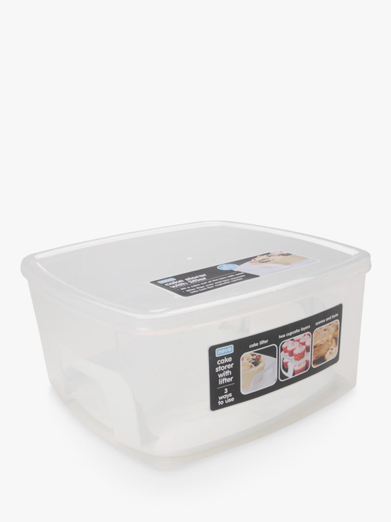 Buy Novo Housewares 2-Level Cake Storage Container with ...