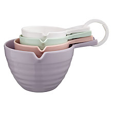 Buy John Lewis Country Measuring Cups, Set of 4 Online at johnlewis.com