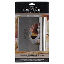 Buy Mason Cash Stainless Steel Bench Scraper Online at johnlewis.com