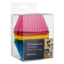 Buy John Lewis Brights Muffin Cases, Set of 100 Online at johnlewis.com