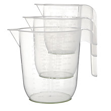 Buy John Lewis Measuring Jugs, Set of 3 Online at johnlewis.com