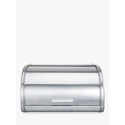 John Lewis The Basics Roll Top Bread Bin