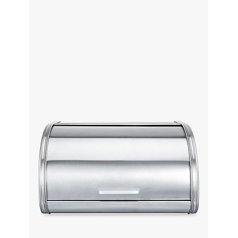 Buy John Lewis The Basics Roll Top Bread Bin Online at johnlewis.com