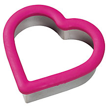 Buy Wilton Comfort Grip Heart Cookie Cutter Online at johnlewis.com