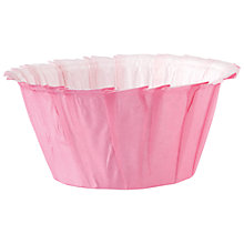 Buy Wilton Ruffled Baking Cases, Pink Online at johnlewis.com