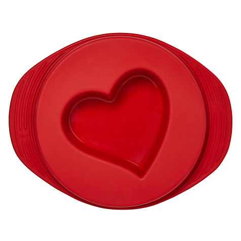 Buy Mastrad Silicone Reversible Heart Cake Mould Online at johnlewis.com