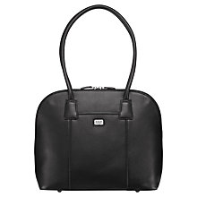 Buy O.S.P OSPREY Wexford Leather Shoulder Handbag, Black Online at johnlewis.com