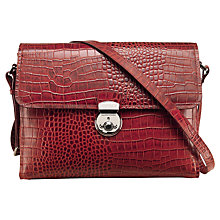 Buy OSPREY LONDON Hayworth Leather Shoulder Handbag Online at johnlewis.com