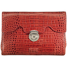 Buy OSPREY LONDON The Large Tango Leather Clutch Bag Online at johnlewis.com