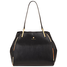 Buy Modalu Tamzin Medium Tote Bag, Black Online at johnlewis.com