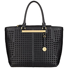 Buy Fiorelli Paris Cut-Out Tote, Black Online at johnlewis.com