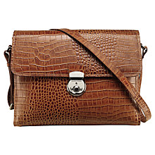 Buy OSPREY LONDON Hayworth Leather Shoulder Bag Online at johnlewis.com