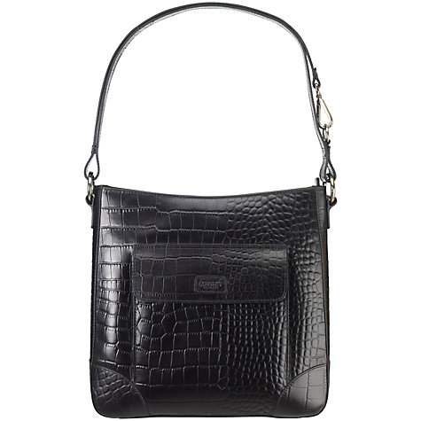 Buy OSPREY LONDON Carapace Leather Across Body Bag Online at johnlewis.com