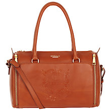 Buy Modalu Buckingham Leather Bowling Bag Online at johnlewis.com