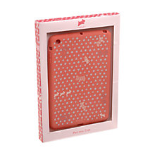 Buy Hibbert Snap Fit iPad Mini Cover, Pink Online at johnlewis.com