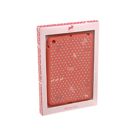 Buy Radley Hibbert Snap Fit iPad Mini Cover, Pink Online at johnlewis.com
