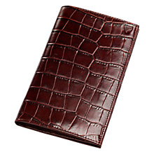 Buy Aspinal of London Breast Wallet, Amazon Brown Online at johnlewis.com