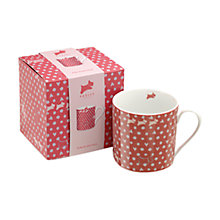 Buy Radley Hibbert Porcelain Mug, Pink Online at johnlewis.com