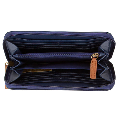 Buy Collection WEEKEND by John Lewis Holiday Stripe Zip Around Purse, Multi Online at johnlewis.com