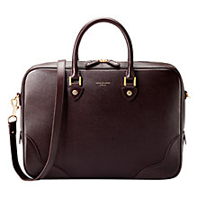 Buy Aspinal of London Mountstreet Laptop Bag Online at johnlewis.com