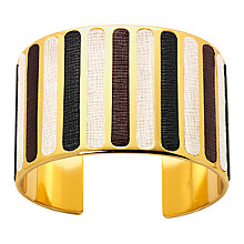 Buy Aspinal of London Iris Monochrome Bangle Online at johnlewis.com