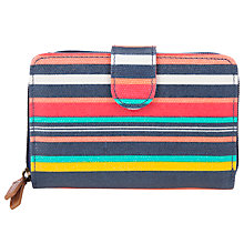 Buy Collection WEEKEND by John Lewis Holiday Stripe Shapes Flap Over Purse, Multi Online at johnlewis.com