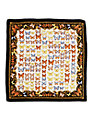 Aspinal of London Butterfly Print Silk Scarf
