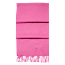 Buy Aspinal of London Cashmere Scarf, Fuchsia Online at johnlewis.com