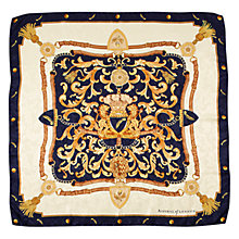 Buy Aspinal of London Signature Silk Crest Scarf Online at johnlewis.com
