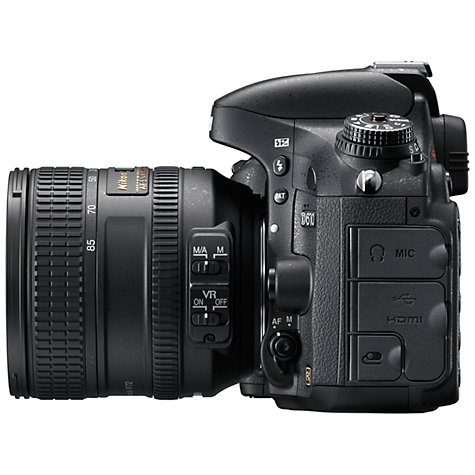 "Buy Nikon D610 Digital SLR Camera with 24-85mm Lens, HD 1080p, 24.3MP, 3.2"" LCD Screen Online at johnlewis.com"
