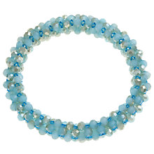 Buy John Lewis Clustered Bead Necklace, Teal Online at johnlewis.com
