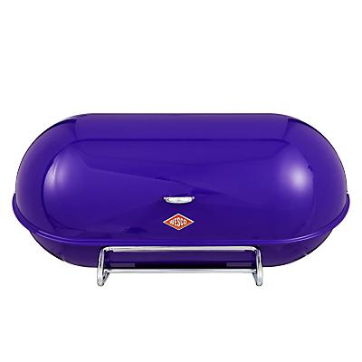 Wesco Steel Breadboy Bread Bin, Purple
